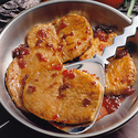 Ginger-Plum Pork Chops